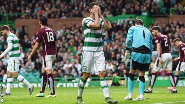 Celtic wasted several good chances in front of goal