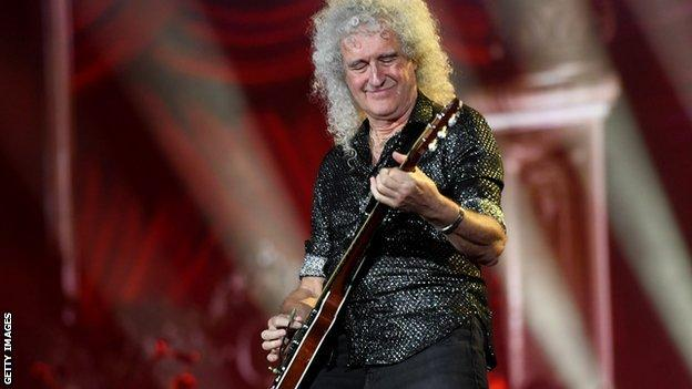 Rock legend Brian May
