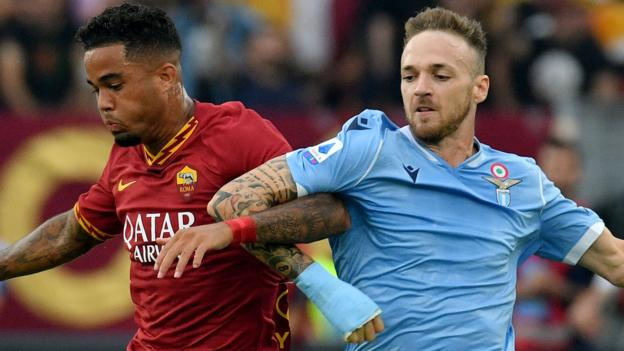 Serie A: Lazio and Roma share points in Rome derby