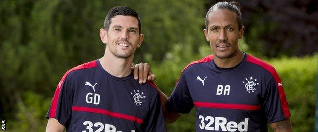 Graham Dorrans and Bruno Alves
