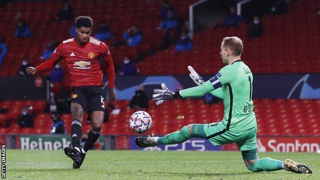 Man Utd 5-0 RB Leipzig: Mason Greenwood, Marcus Rashford hat-trick, Anthony Martial score thumbnail