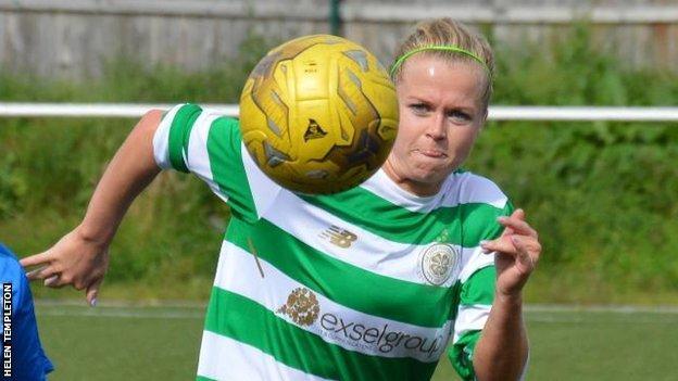 Celtic's Ruesha Littlejohn
