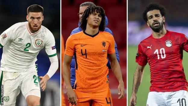 Matt Doherty, Nathan Ake ve Mohamed Salah