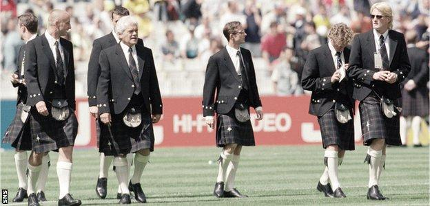 Scotland players in 1998
