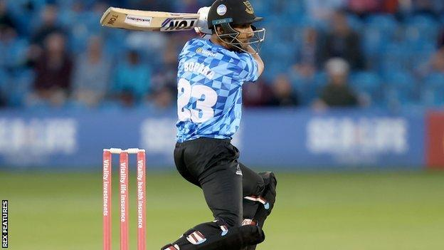 Sussex's Ravi Bobara was one of Essex's stars in the T20 Blast Finals Day victory at Edgbaston in 2019
