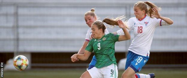 Simone Magill scores Northern Ireland' second