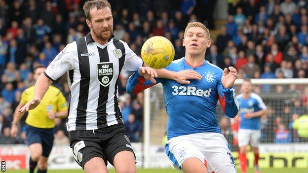 Andy Webster and Martyn Waghorn