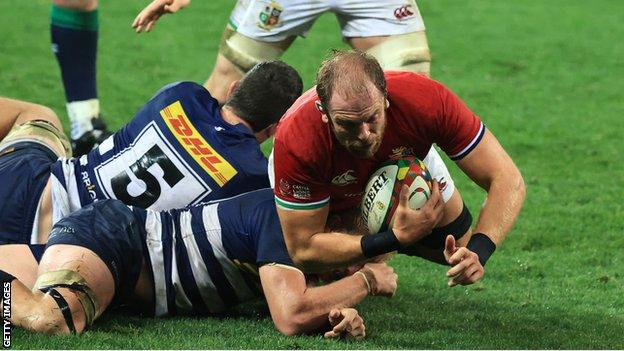 Alun Wyn Jones to captain British and Irish Lions in first Test against South Africa thumbnail