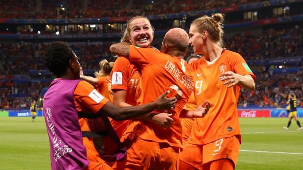 Women's World Cup: Netherlands beat Sweden to reach final against USA