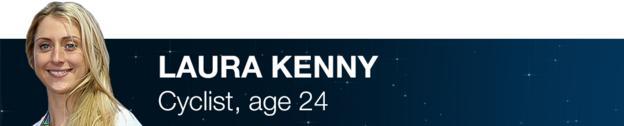 Laura Kenny - Cyclist, age 24