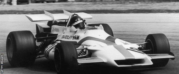 Peter Gethin, winner of the 1971 Italian Grand Prix