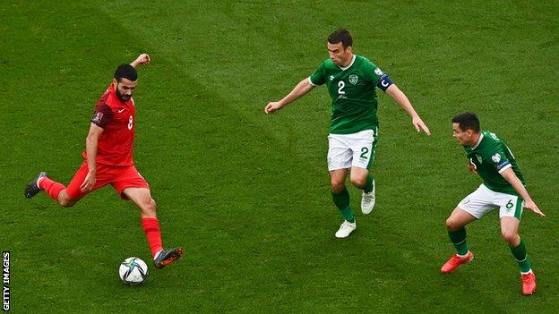 Emin Mahmudov got off to a good start for Azerbaijan against Ireland