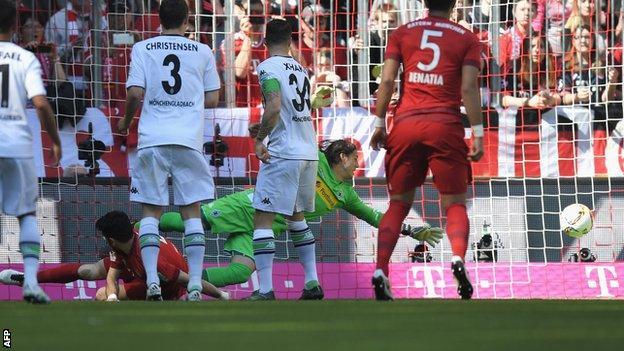 Thomas Muller goal