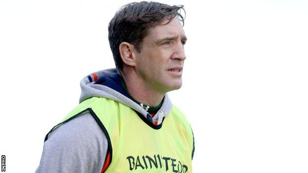 Armagh manager Kieran McGeeney captained the county to its only All-Ireland SFC title in 2002