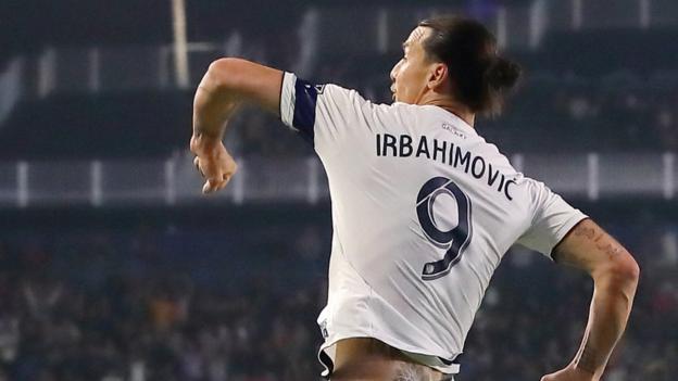 new concept f0cba 94ba7 Zlatan Ibrahimovic: LA Galaxy misspell Swedish striker's ...