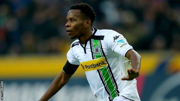Borussia Moenchengladbach winger Ibrahima Traore