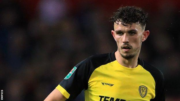 Tom Flanagan has made 66 appearances for Burton Albion