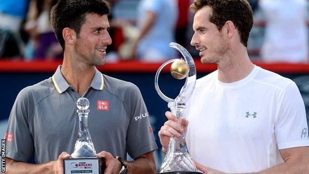 Andy Murray Beats Novak Djokovic At Rogers Cup In Montreal Bbc Sport
