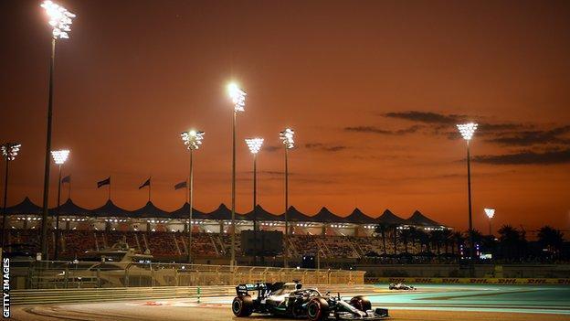 Lewis Hamilton sunset