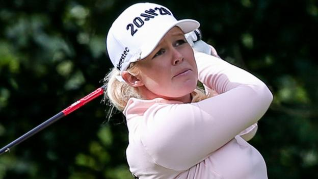 World Invitational: Meadow shares women's lead in Northern Ireland