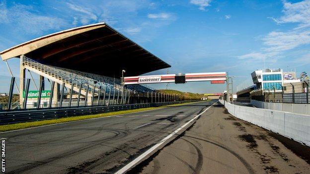 Zandvoort race track in the Netherlands