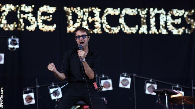The Vaccines singer Justin Young