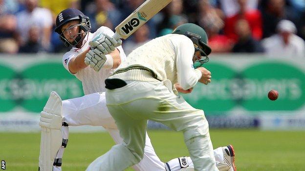 Joe Root hits out against Australia