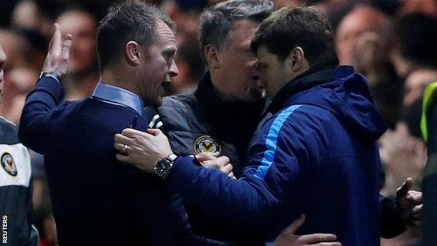 Mike Flynn and Mauricio Pochettino