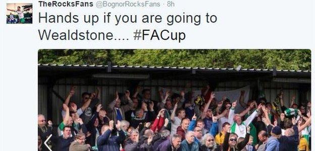 The Rocks Fans on Twitter