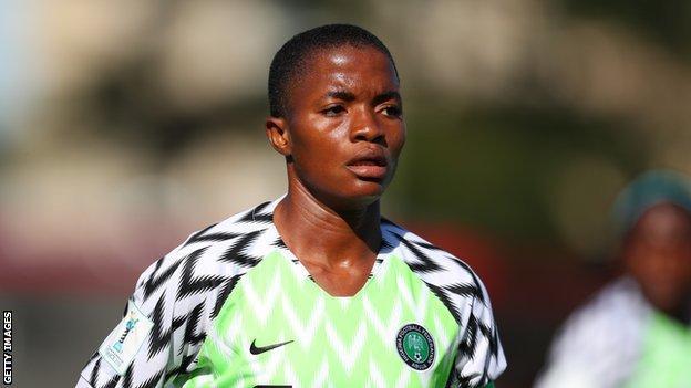 Nigeria's Rasheedat Ajibade
