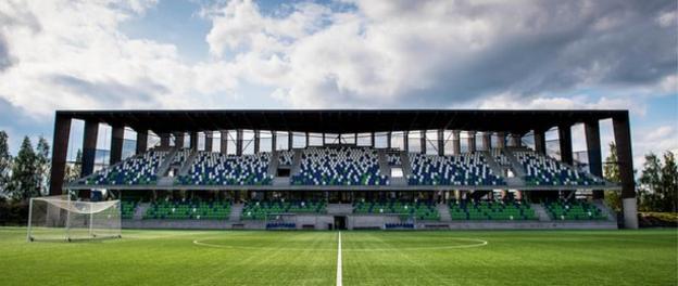 Rovaniemen Keskuskentta home to Finnish side RoPS