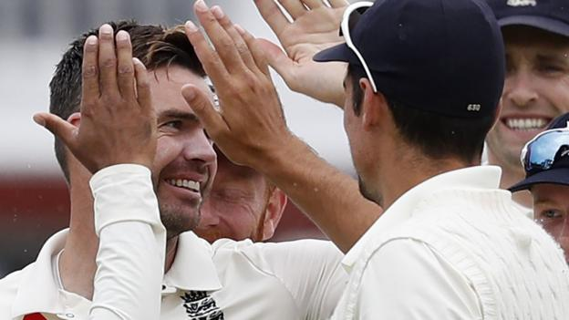102942023 andersonafp - England v India: Hosts rating second Check by innings and 159 runs