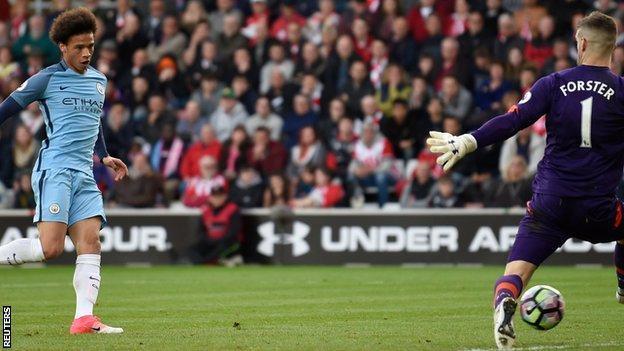 Manchester City winger Leroy Sane