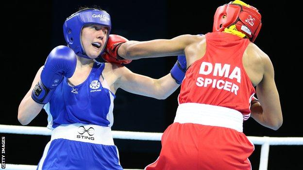 Vicky Glover showed experience beyond her years as she beat Valerian Spicer