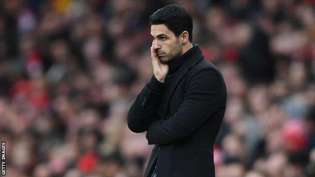 Mikel Arteta Arsenal Manager Tests Positive For Coronavirus Bbc Sport