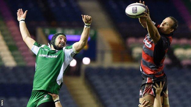Edinburgh avenged last weekend's defeat by London Irish