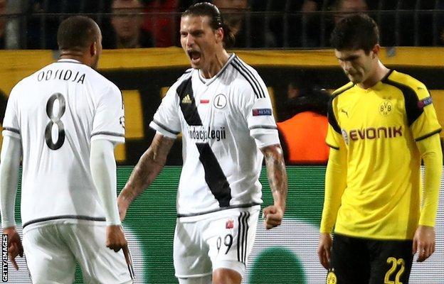 Aleksandar Prijovic scores his second goal