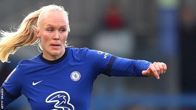 Maria Thorisdottir made 49 appearances for Chelsea in three and a half years with the club