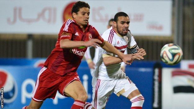 Egyptian rivals Al Ahly and Zamalek are into the last four of the Confederation Cup