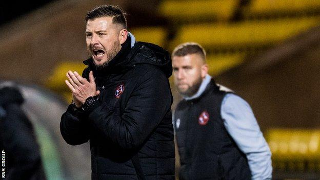 Courts took charge of one game last season, a 2-0 defeat by Livingston in December