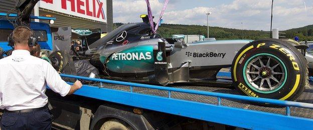 Nico Rosberg's car