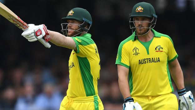 India v Australia: David Warner and Aaron Finch hit tons in 10-wickets win thumbnail