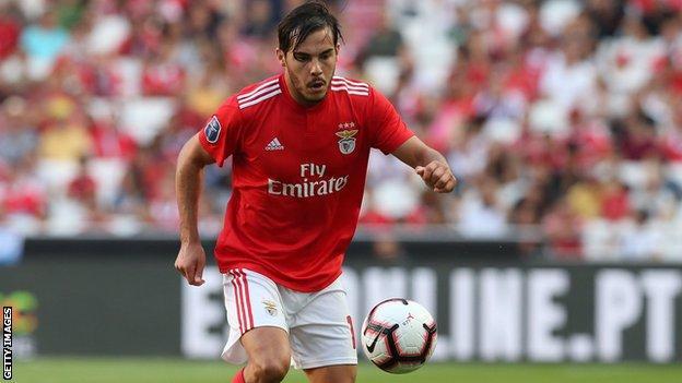 Yuri Ribeiro in action for Benfica
