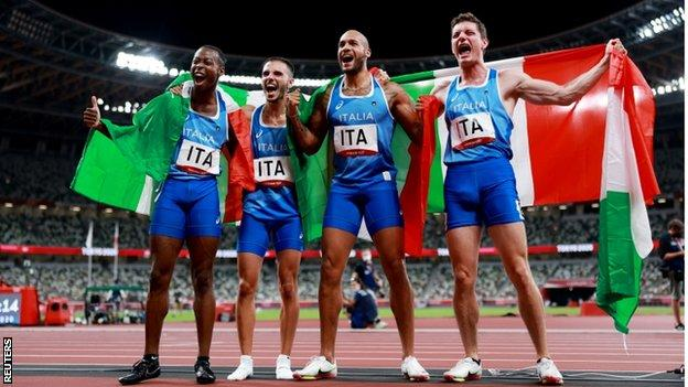 italy relay team