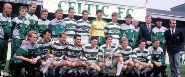 Celtic's league-winning side of season 1987-88