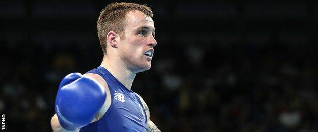 Steven Donnelly was an quarter-finalist at the Rio Olympics