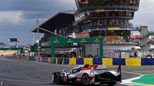 Toyota in the Le Mans 24 Hours