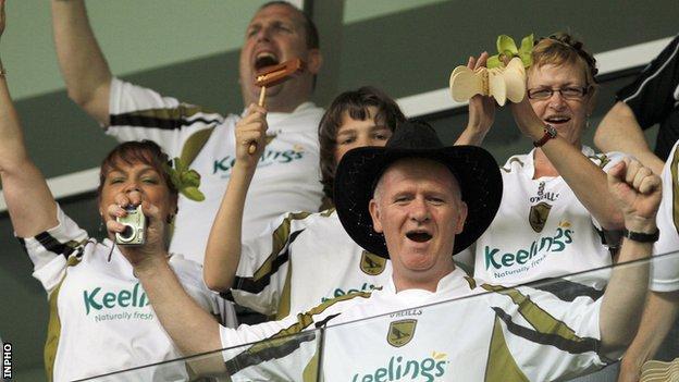 Sporting Fingal fans