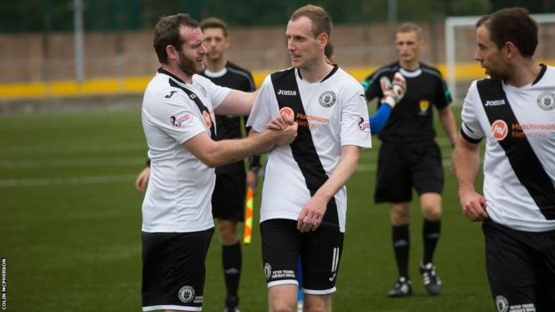 Edinburgh City players