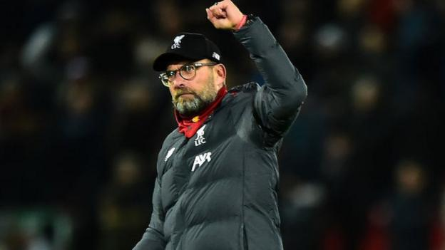Jurgen Klopp: Liverpool boss 'never thought' record would be equalled thumbnail